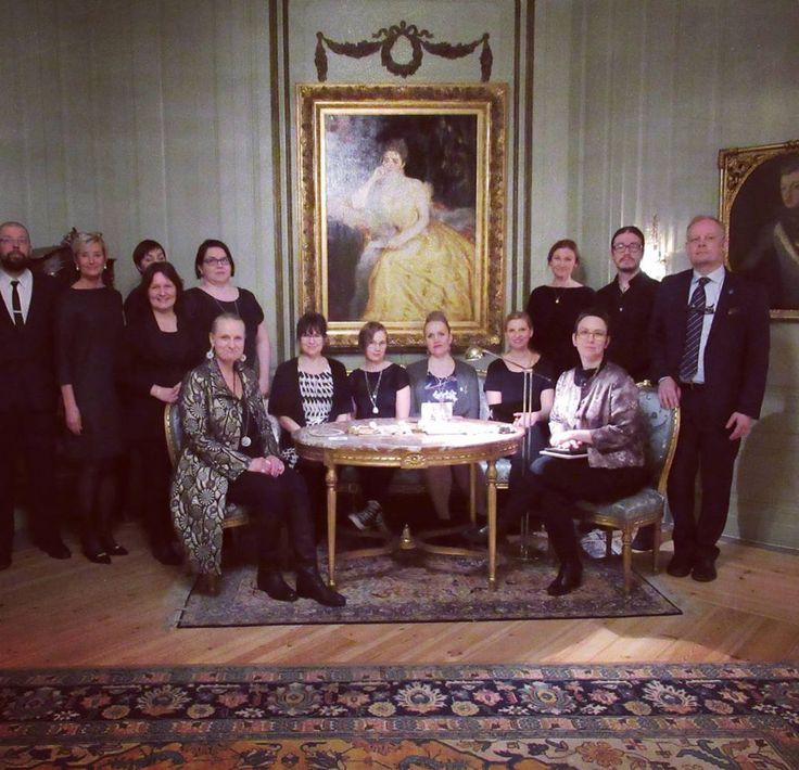 Photo from last week. We are starting PR event at Finnish Ambassador's residence in Sweden!! Thanks for everyone for lovely evening! #tack #finnishambassador @finlandstockholm #pr
