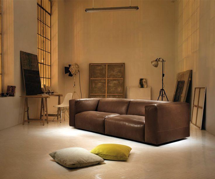 Prostoria Cloud Ledersofa   Als 2 Oder 3 Sitzer   Handmade In Kroatien #sofa  # Great Ideas