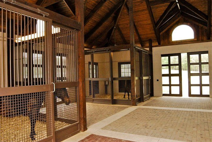 Inside the Princess barn by Geoff Tucker  Dream Barns and
