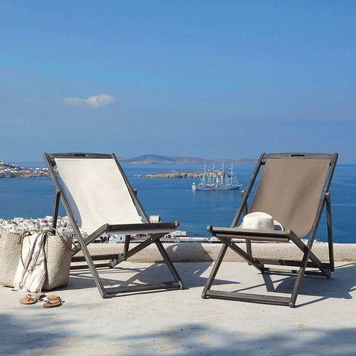 25 best ideas about chaise longue pliante on pinterest for Chaise longue bois exotique