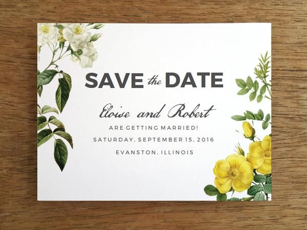 Save the date template free download for Free vintage save the date templates