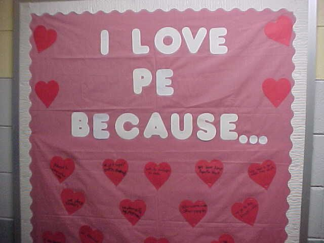 pe bulletin board ideas - Google Search