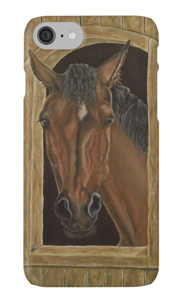 IPhone Case,  brown,cool,beautiful,fancy,unique,trendy,artistic,awesome,fahionable,unusual,accessories,for sale,design,items,products,gifts,presents,ideas,horse,equine,portrait,animal,wildlife,redbubble