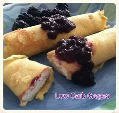 Ketogenic Diet Recipes - Low Carb Crepes #ketogenicdiet #keto #lowcarbs #lchf