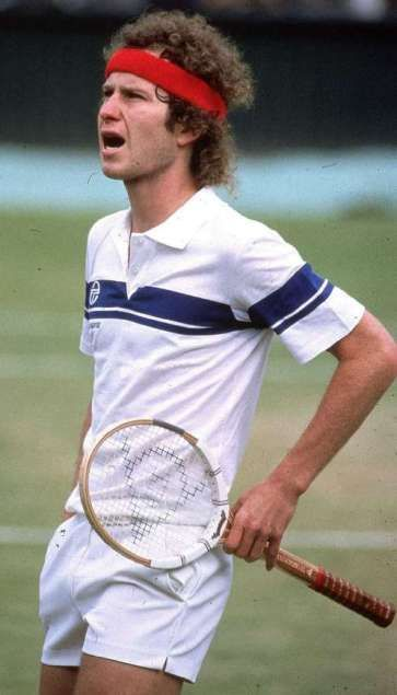 """John McEnroe: You cannot be serious!! Sergio Tacchini then and now....   <a href=""""http://www.tenniswarehouse-europe.com/catpage-STMAPP.html?lang=en&vat=GR&from=tnewsgr"""">http://www.tenniswarehouse-europe.com/catpage-STMAPP.html?lang=en&vat=GR&from=tnewsgr</a>"""