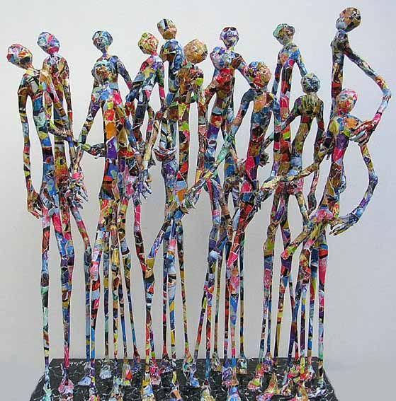 Astonishing Paper Sculptures of Jean-François Glabik