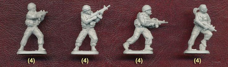 Plastic Soldier Review - Orion Modern Israeli Army (Set 2)