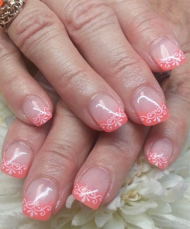 The 334 best French Nails With a Twist images on Pinterest