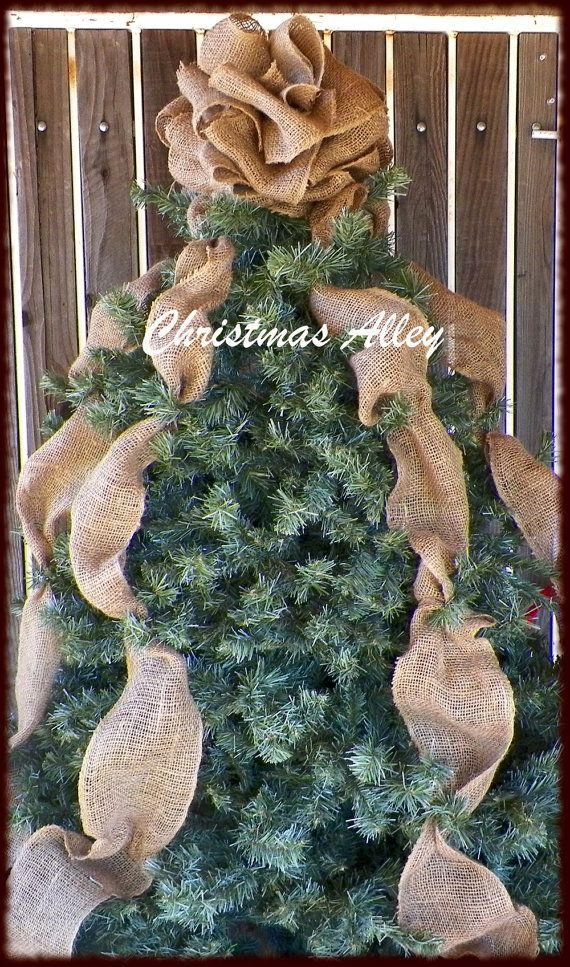 Best 25 burlap christmas tree ideas on pinterest burlap best 25 burlap christmas tree ideas on pinterest burlap christmas decorations burlap christmas and diy christmas ribbon decorations solutioingenieria Image collections