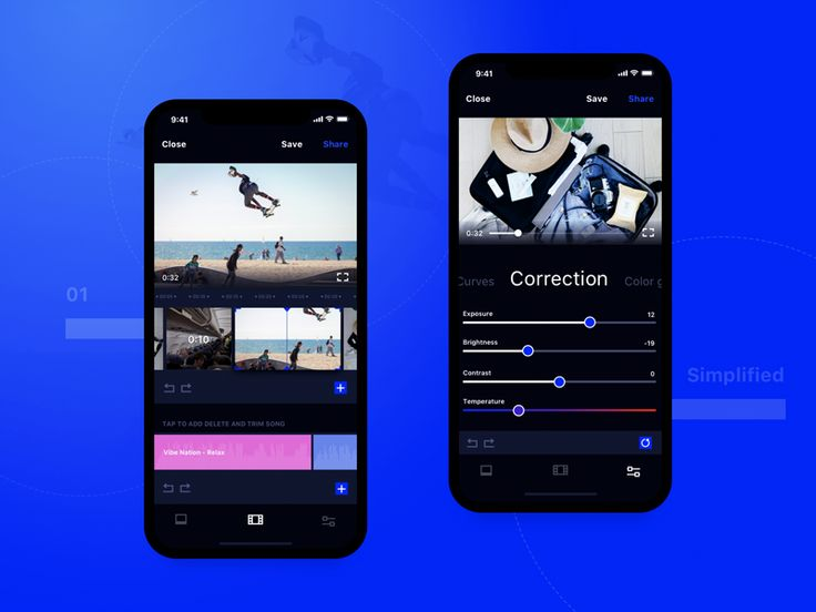 Video Editing Mobile Application Design