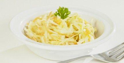 Salade de chou crémeuse yogourt et mayonnaise