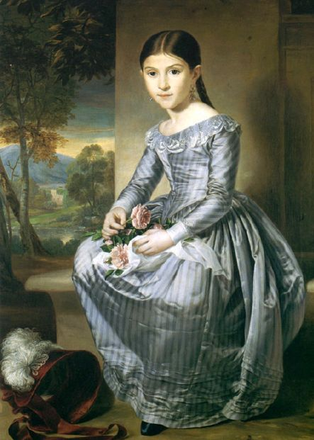 Rafael Tejeo Diaz , Portrait of a young girl