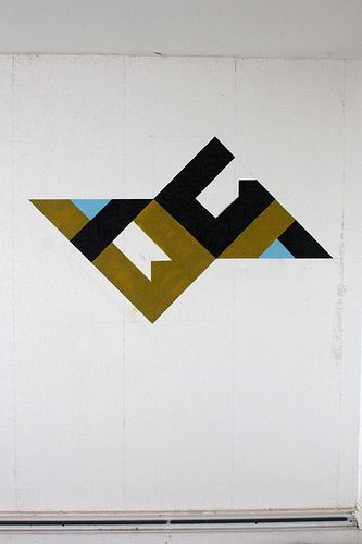 93 best images about geometric symetric graffiti on for Minimal art vzla