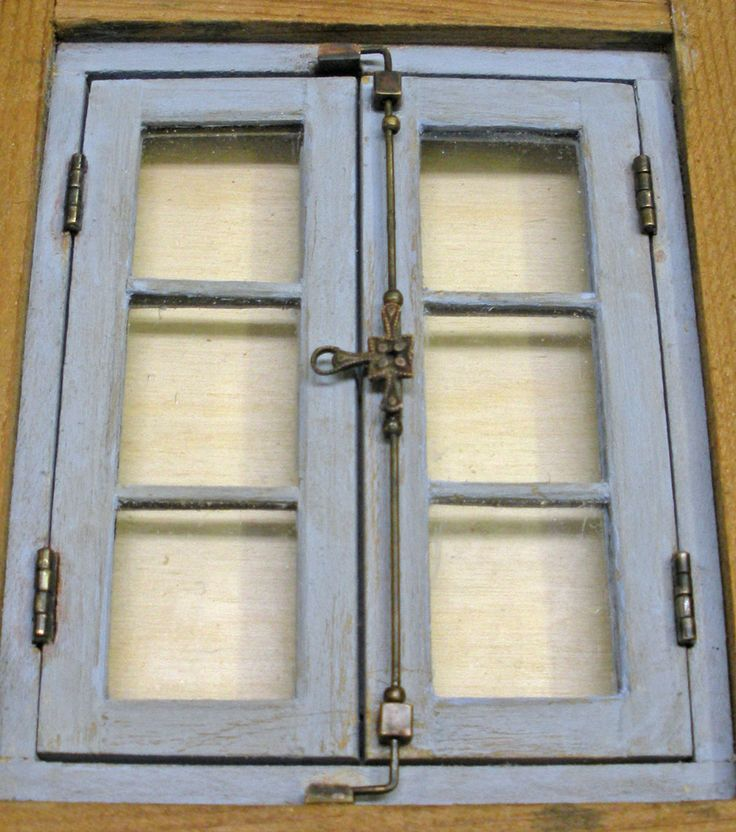 Karin Corbin Miniatures: Window Latches