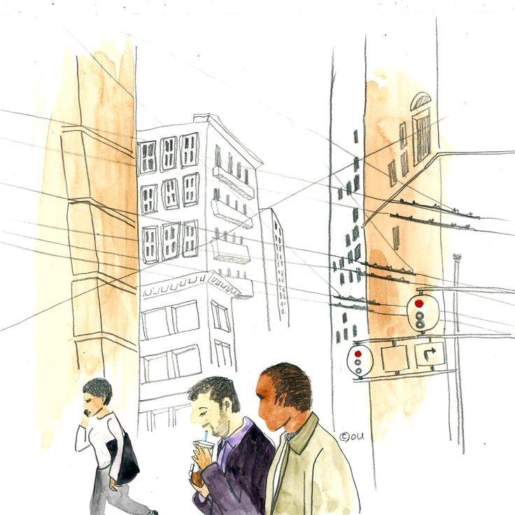 drawing : sanfrancisco