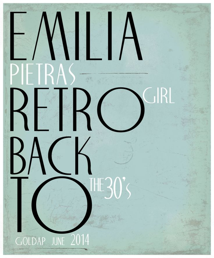 Fashion.  Retro Girl.  Model - Emilia Pietras Hair - Grzegorz Kozioł & Kaja Rynasiewicz Stylist - Marlleen Typography - Fryderyk Danielczyk  www.fryderykdanielczyk.com www.artandlaw.pl