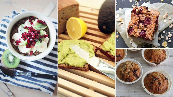Åtte raske frokoster som får deg opp om morgenen