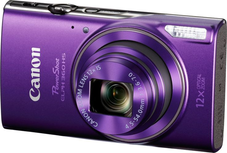 A camera that lends a helping hand    Whether you're planning the vacation of a lifetime, or a day trip to the local zoo, the Canon PowerShot ELPH 360 HS gives you the tools you need capture each