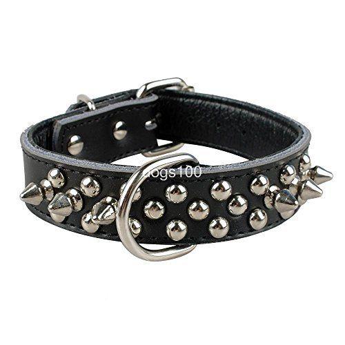 mylunn (TM) Petit collier en cuir pour chien rembourré à pointes Pet chiot 5couleurs 3tailles S M L: Price:21.13 Description du produit…