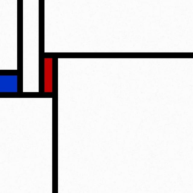20110121-A2 (Fractal Mondrian) by Algorithmic worlds. An animation based on the fractal Mondrian pattern, see this blog post: