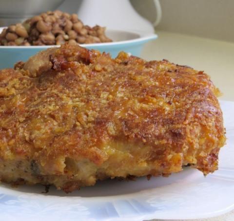 how to make crispy pork chops with flour