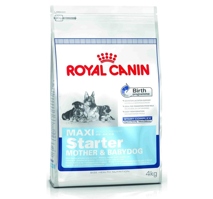 Royal Canin Maxi Starter - 4 Kg buy Online dog food http://www.dogspot.in/treats-food/