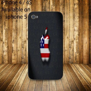 iphone 4/4s case apple USA on Wanelo