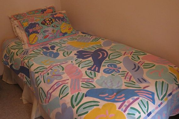 Ken Done Doona Cover  Single Bed by LouisaAmeliaJane on Etsy