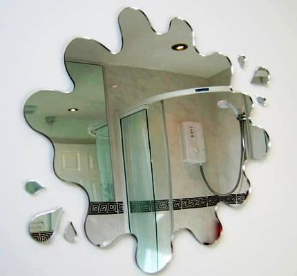 Amazing mirrors! This one would be so fun in a kids bathroom