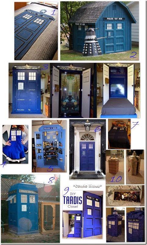 10 Doctor Who TARDIS Crafts @Melissa Allende :)