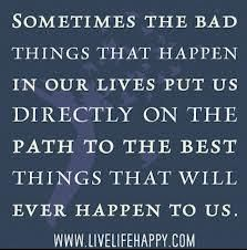 bad things may not alwas be #bad after all http://smilingthroughlife.com