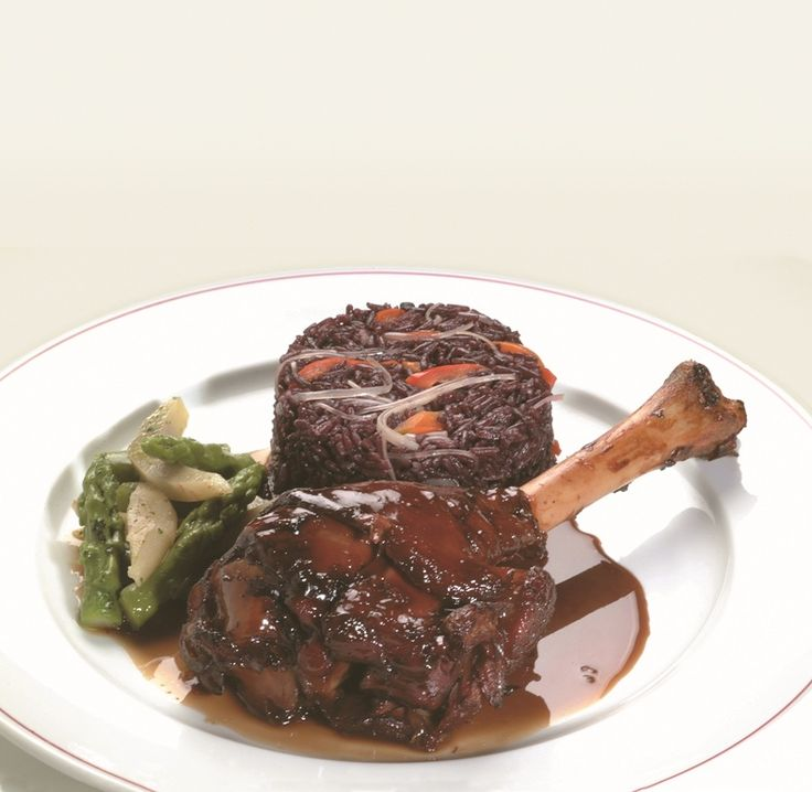 124 best platos peruanos images on pinterest fishing latin food thanksgiving dinner with a peruvian twist braised lamb shanks with purple rice forumfinder Images