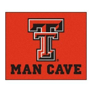 Texas Tech Red Raiders NCAA Man Cave Tailgater Floor Mat (60in x 72in)