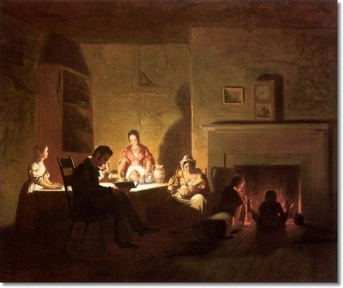 George Caleb Bingham. Family Life on the Frontier. before 1845