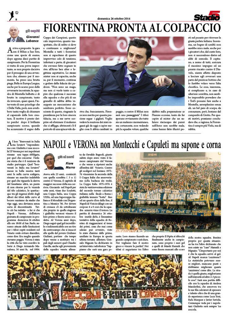 Gli Ospiti e il pensiero di Fiore Marro sulla linea Milano-Napoli