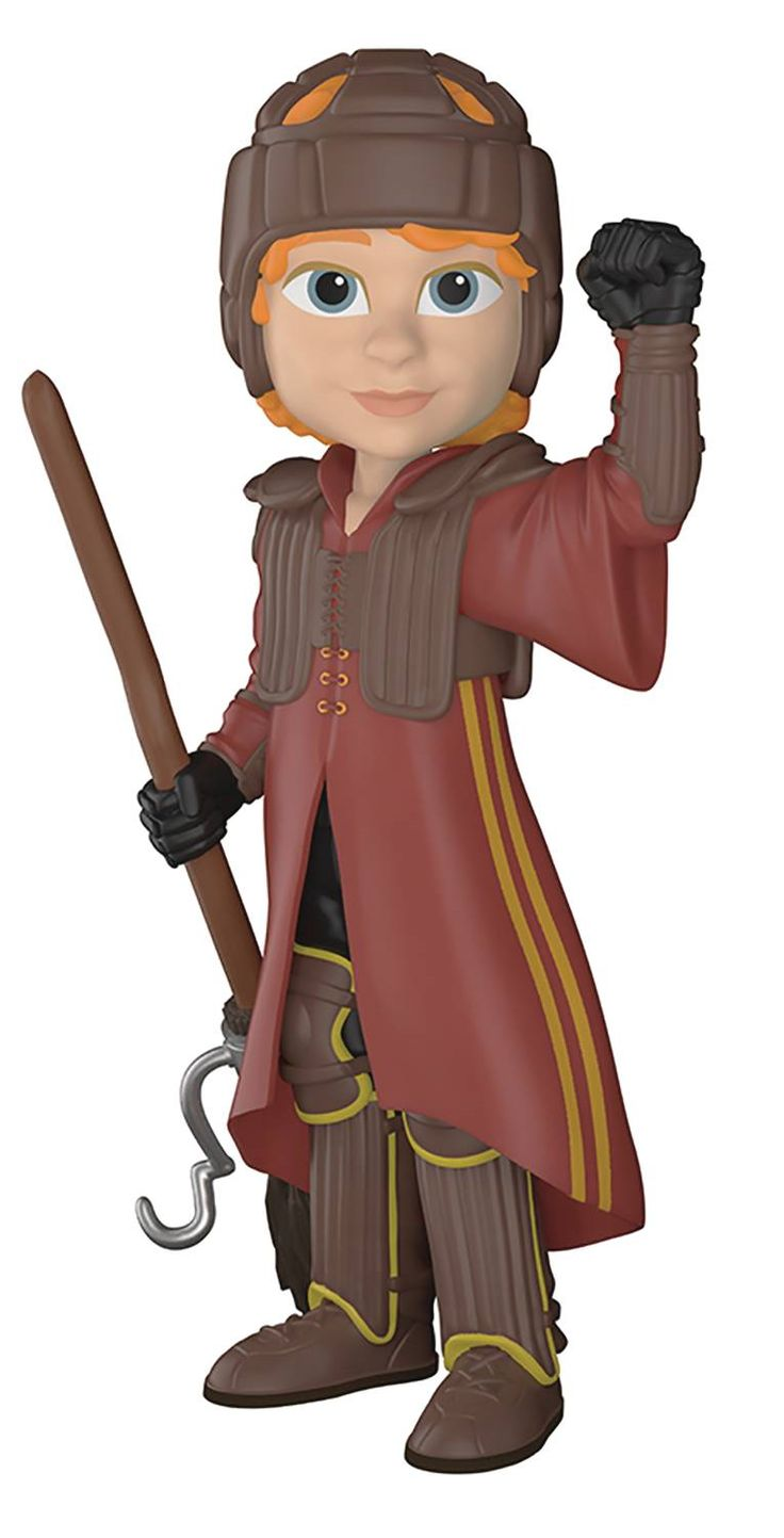 ROCK CANDY HARRY POTTER RON IN QUIDDITCH UNIFORM FIGURE