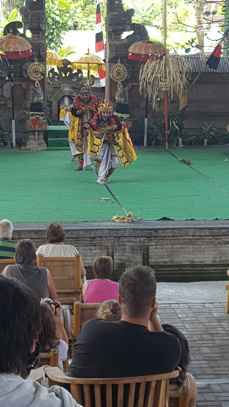 Barong dance in Bali
