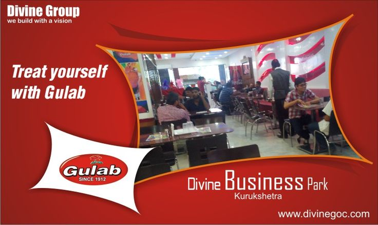 Gulab is one of the leading retail chains for Indian sweets. Here, you will find all tasty sweets & snacks. #divinebusinesspark http://www.divinegoc.com/divine-business-park/index.php
