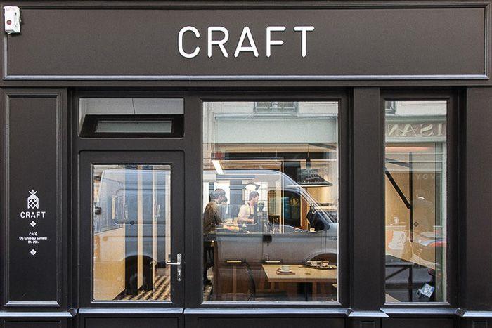 Photo du café parisien Café Craft près du Canal St Martin
