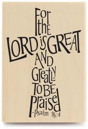 Psalm 96:4  For the LORD is great, and greatly to be praised: he is to be feared above all gods.