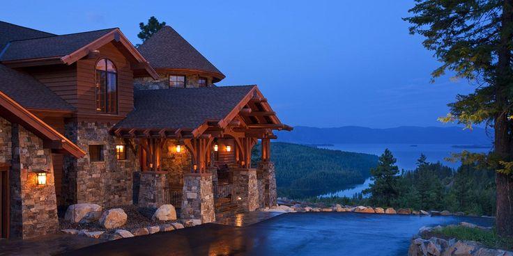 Mountain Home Exterior Design
