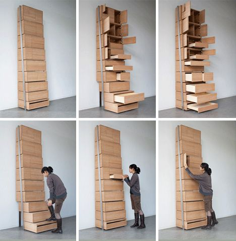 Since The Staircase Functionality Is Built In There No Need For Traditional Storageceiling