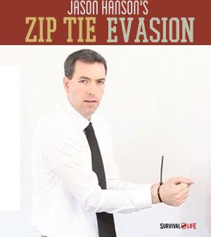 Zip Tie Restraint Escape | Survival Life - Survival Life | Preppers | Survival Gear | Blog