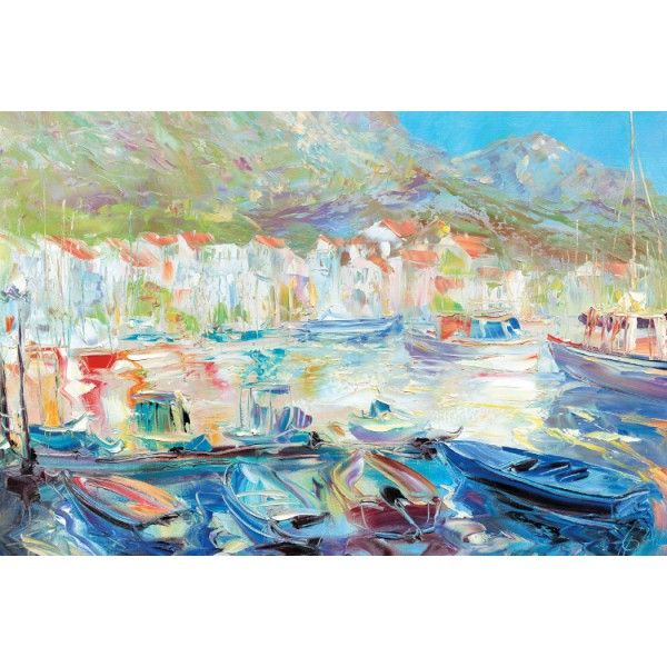 Boats, 2012 - Postcards, Pictorial art