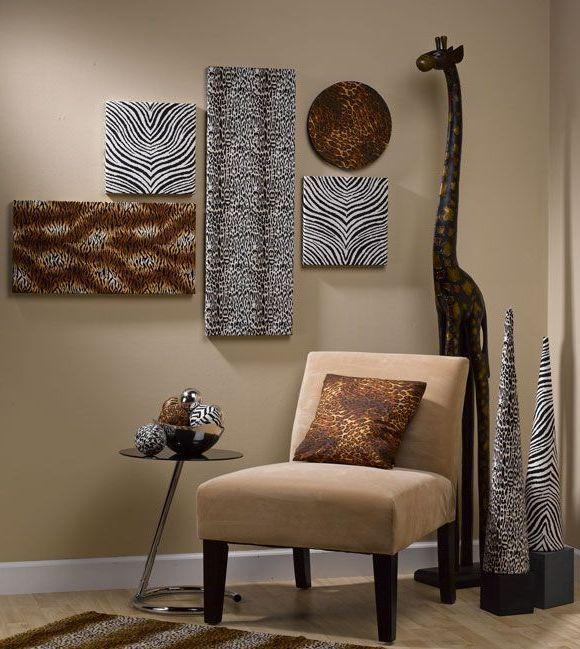 African Safari Wall Art Decoration Ideas Safari Home Decor Wall