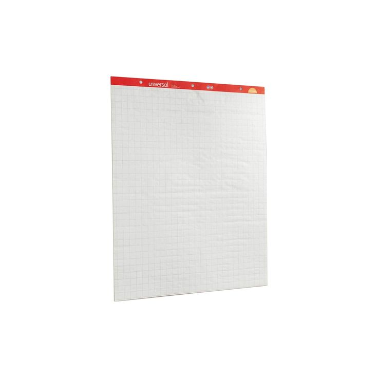 """Universal Recycled Easel Pads, 27"""" x 34"""", 2 pk- White"""