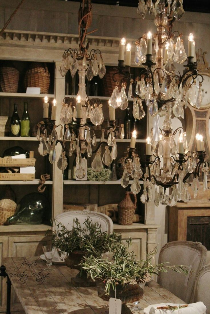 French country dining room chandelier - Things I Love Hope You Ll Like It Photo Country Cottage Kitchensfrench