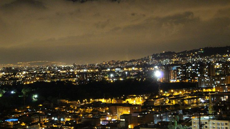 Mi Bogotá en la noche...