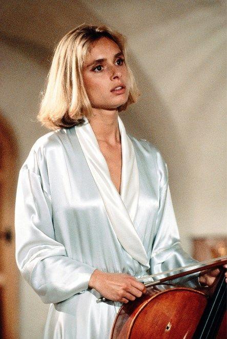 Maryam d'Abo dans «Tuer n'est pas jouer», 1987.