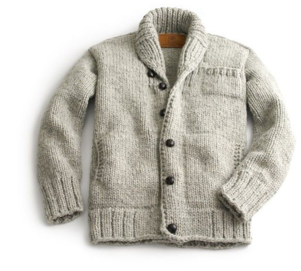 A Sweater From The Great White North